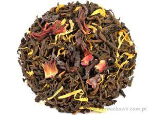 Herbata Pu Erh Wiśnie w Rumie