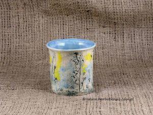 Kubek ceramiczny Ziołowy Zakątek IV do yerba mate