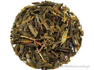 Zielona herbata Sencha Czerwony Żeńszeń