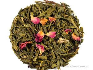 Zielona herbata Sencha Japońska Wiśnia