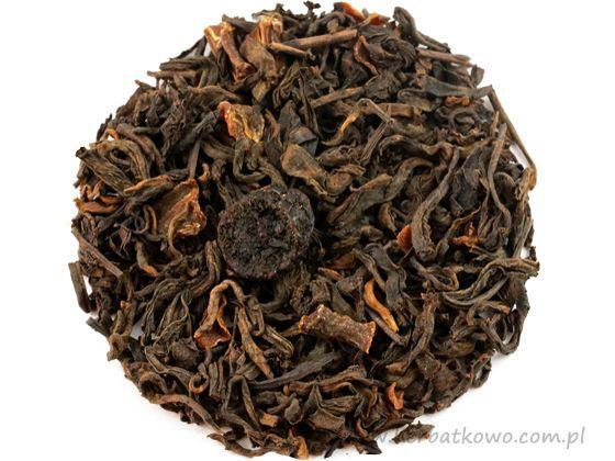 Herbata Pu Erh Żurawina