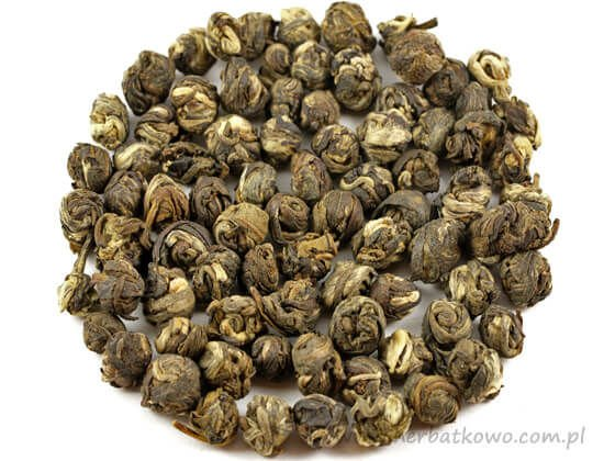 Herbata biała China Jasmine Dragon Phoenix Pearls