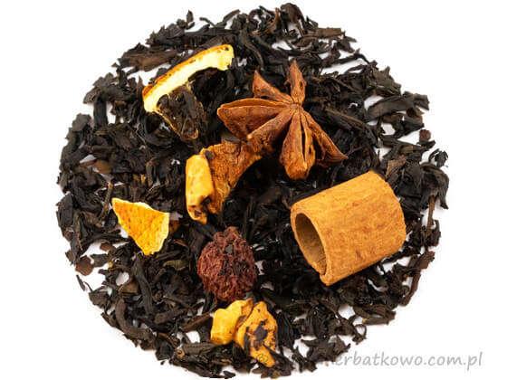 Herbata czarna Grzane Wino