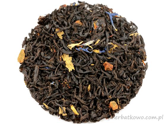 Herbata czarna aromat. Śliwka w Cynamonie