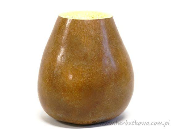 Tykwa nieokuta do yerba mate poj. 200 - 230 ml