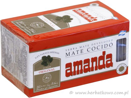 Yerba Mate Amanda cocido saszetki 25 x 3g