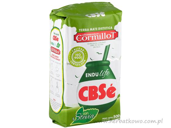 Yerba Mate CBSe Endulife 0,5 kg słodka ze stewią