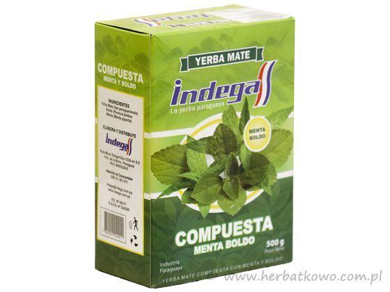 Yerba Mate Indega Menta Boldo 0,5 kg