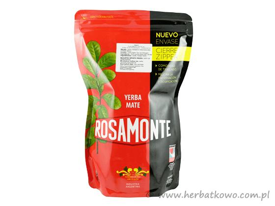 Yerba Mate Rosamonte Zipper Closure 0,5 kg