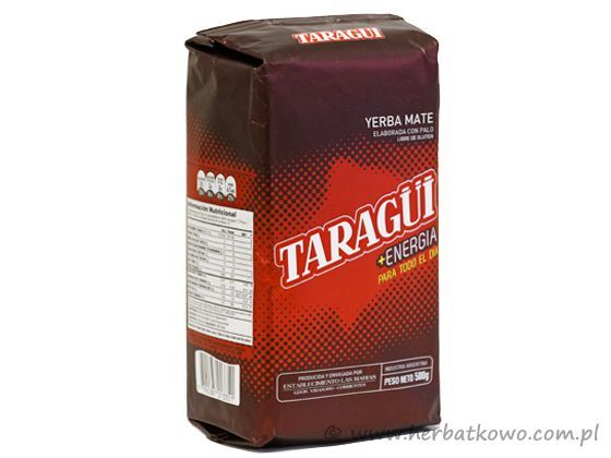 Yerba Mate Taragui Energia 0,5 kg