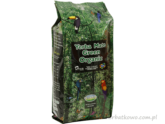 Yerba Mate Triunfo Organic 0,454 kg grubo cięta