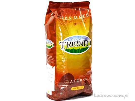 Yerba Mate Triunfo Sezonowana Organic 1 kg grubo cięta