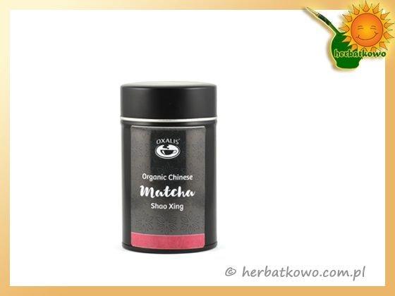Zielona herbata China Matcha Shao Xing Organic 30g